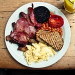 What would you eat for a typical English breakfast?