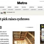 Words in the news: right up one's alley