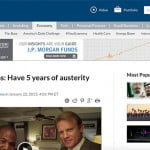 Words in the news: Austerity