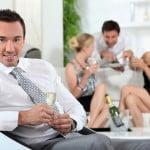 A housewarming party
